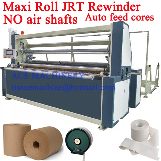 Automatic Feed Cores JRT Machine NO Need Air Shaft