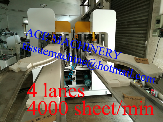 high speed napkin paper machine in China