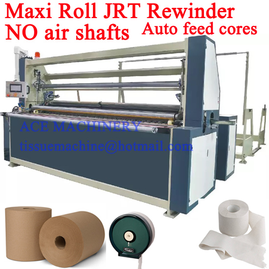 JRT embossing rewinding machine