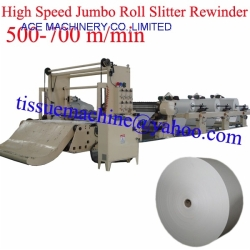 High Speed Jumbo Paper Roll Slitter Rewinder Machine Automatic Slitting Rewinder Machine