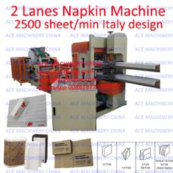 Customized Tabletop Xpressnap Tallfold Dispenser Napkin Machine for Converting Folding Embossing Cocktail Beverage Luncheon tissues