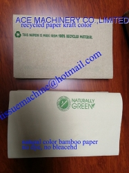 Color Printed & Laminated Tabletop Just1 Interfold Dispenser Napkin 200x165mm & 225x165mm